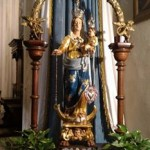 statua madonna cortabbio